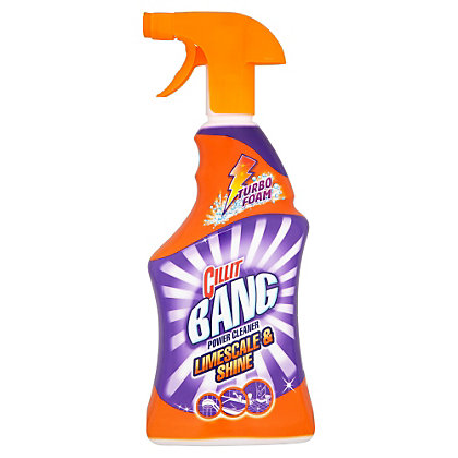 Image for Cillit Bang Grime and Lime Cleaner Spray - 750ml from StoreName