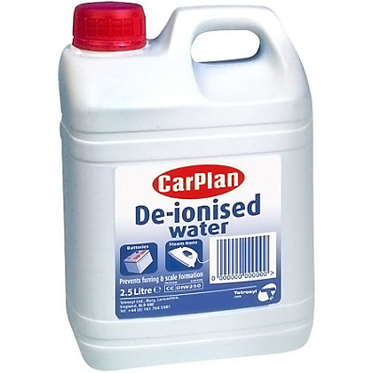 Image for De-ionised Water - 2.5L from StoreName