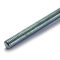 Threaded Rod - Bright Zinc Plated - M6 - 2 Pack
