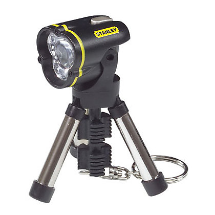 Image for Stanley Mini Tripod Keychain Torch - Black from StoreName