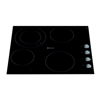 Image for Hotpoint Newstyle CRM 641 D C Hob - Black from StoreName