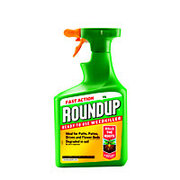 Roundup Fast Action Ready To Use Weedkiller - 1L