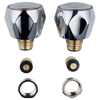 Image for Basin Tap Conversion Kit - Chrome Finish from StoreName