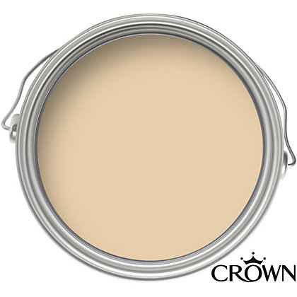 Image for Crown Fashion For Walls Cream Suede - Suede Matt Emulsion Paint - 125ml Tester from StoreName