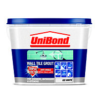 UniBond Anti Mould Tile Grout - Ice White