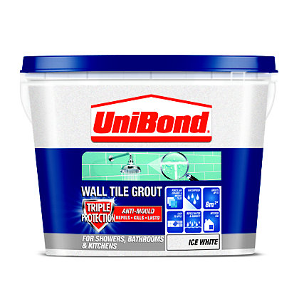 Image for UniBond Anti Mould Tile Grout - Ice White from StoreName