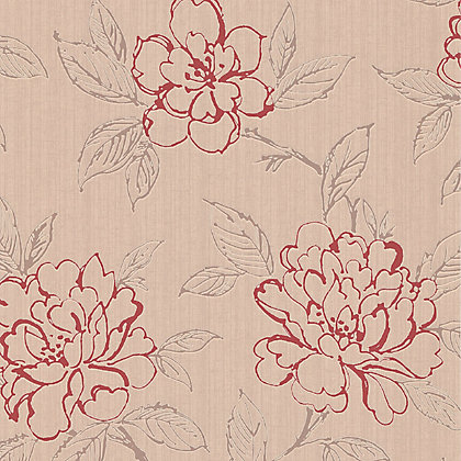 Image for Superfresco Bloom Red Wallpaper from StoreName