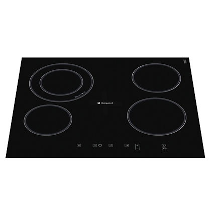 Image for Hotpoint Newstyle CRA 641 D C Hob - Black from StoreName