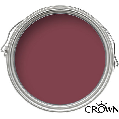 Image for Crown Period Colours Breatheasy Scarlet Ribbon - Flat Matt Emulsion Paint - 40ml Tester from StoreName