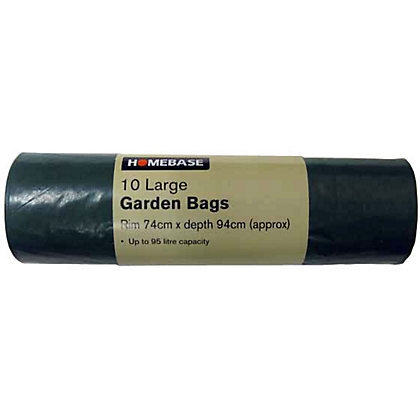 Image for Essentials Large Garden Sacks - Green - 10 Pack from StoreName