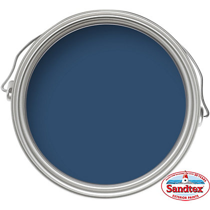 Image for Sandtex Oxford Blue - High Performance Gloss Paint - 750ml from StoreName