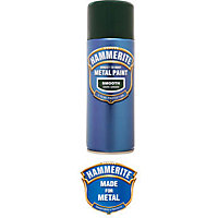 Hammerite Dark Green - Exterior Smooth Aerosol Paint - 400ml