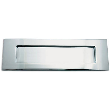 Image for Letter Plate - Polished Chrome - 254 x 76mm from StoreName
