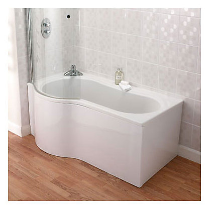 Image for Aqualux Beresford Universal Bath Screen from StoreName