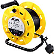 4 Socket 13A Open Reel - 50m