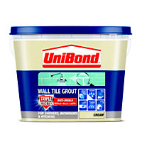 UniBond Anti Mould Tile Grout - Cream