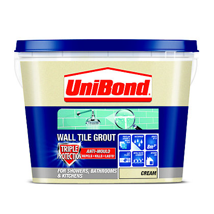 Image for UniBond Anti Mould Tile Grout - Cream from StoreName