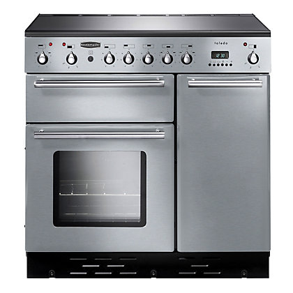 Image for Rangemaster Toledo 72890 90cm Dual Fuel Cooker - Silver from StoreName