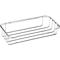Bathroom Tidy Cosmetic Basket - Chrome