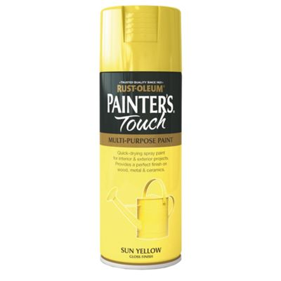 Rust-Oleum Gloss Spray Paint - Sun Yellow - 400ml