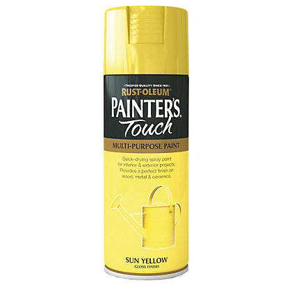 Image for Rust-Oleum Gloss Spray Paint - Sun Yellow - 400ml from StoreName