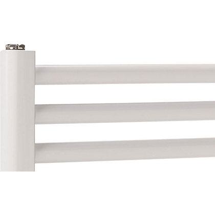 Image for Windsor Heated Towel Rail - White 406 x 450mm from StoreName