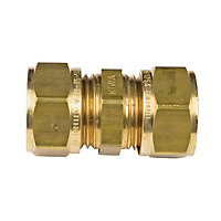 Compression Connector - Brass - 15mm
