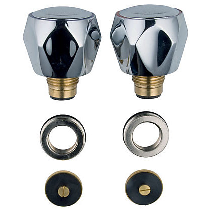 Image for Bath Tap Conversion Kit - Chrome Finish from StoreName