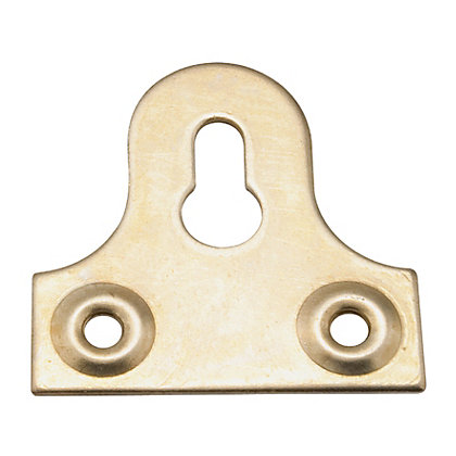 Image for Picture Frame Bracket Slot - Brass Effect - 38mm - 2 pack from StoreName