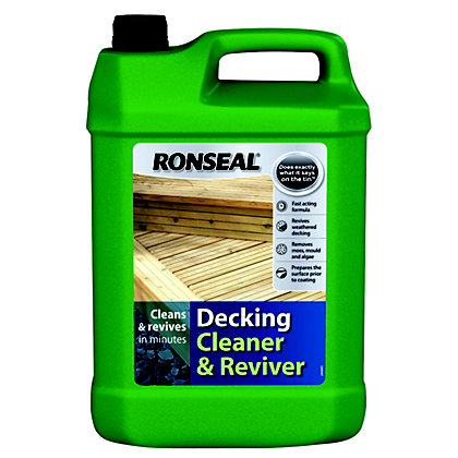 Image for Ronseal Decking Cleaner & Reviver- 5L from StoreName