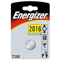 Energizer CR2016 Lithium Button Cell Batteries - 2 Pack