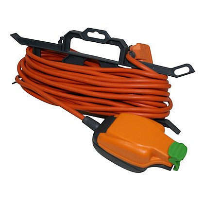Image for Heavy Duty 10A Extension Lead IP Rated Socket & Cable Tidy - 15m from StoreName