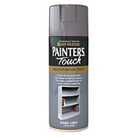 Rust-Oleum Gloss Spray Paint - Dark Grey - 400ml