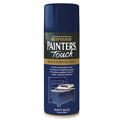 Image for Rust-Oleum Spray Paint - Navy Blue - 400ml from StoreName