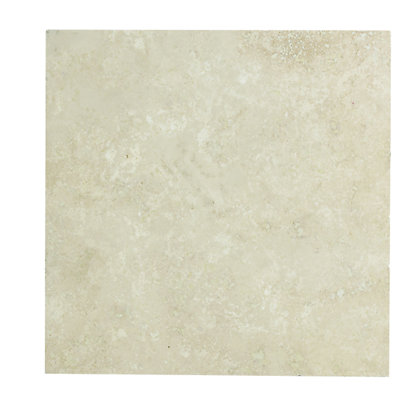 Image for Travertine Floor Tiles - Cream - 305 x 305mm - 5 Pack from StoreName