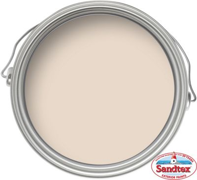 Homebase Sandtex Clotted Cream High Performance Gloss