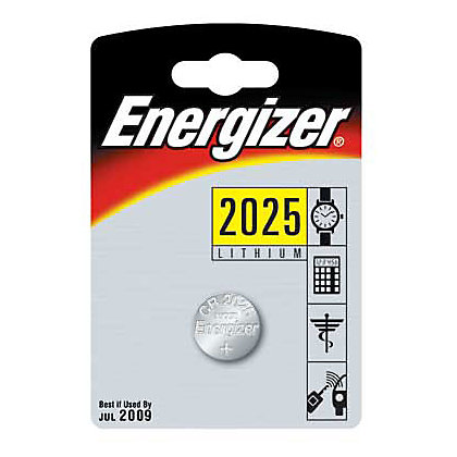 Image for Energizer CR2025 Lithium Button Cell Batteries - 2 Pack from StoreName