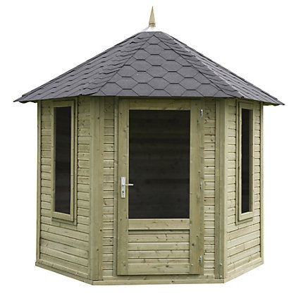 Image for Forest Henley Summer House - 11ft x 9ft 6in from StoreName