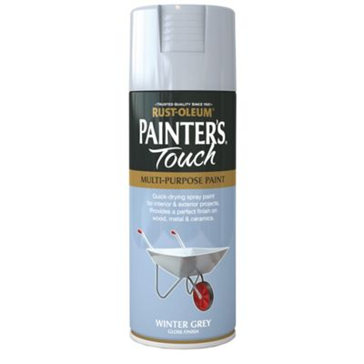 Rust-Oleum Gloss Spray Paint - Winter Grey - 400ml