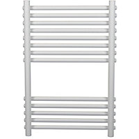 Sardinia Heated Towel Rail - White 730 x 500mm