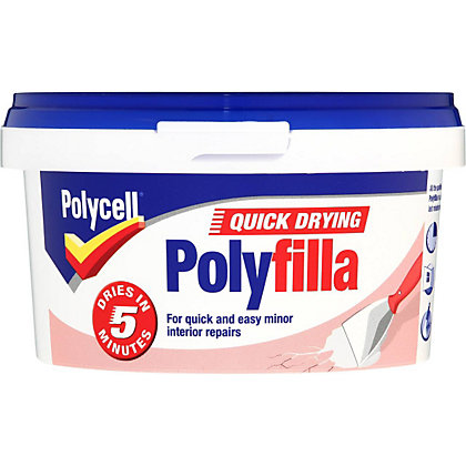 Image for Polycell Quick Dry Polyfilla - 500g from StoreName