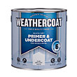 Weathercoat Quick Dry Primer Undercoat - Pure Brilliant White - 2.5L
