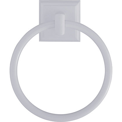 Image for Towel Ring - White from StoreName