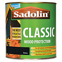 Sadolin Classic Woodstain - Ebony - 1L