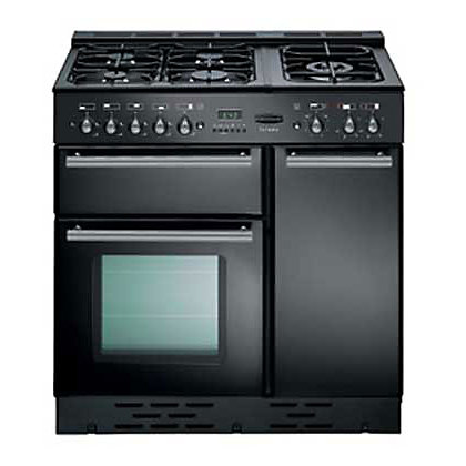 Image for Rangemaster Toledo 73540 90cm Natural Gas Cooker - Black Gloss from StoreName