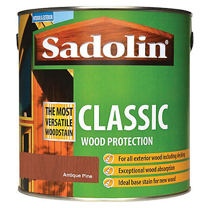 Image for Sadolin Classic Woodstain - Antique Pine - 2.5L from StoreName