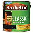 Sadolin Classic Woodstain - Ebony - 2.5L