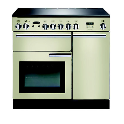 Image for Rangemaster Professional Plus 90cm Ceramic Range Cooker - Cream from StoreName