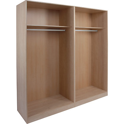 Image for Schreiber Double Sliding Wardrobe Package - Walnut from StoreName