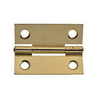 Cabinet Butt Hinge Electro Brass - 50mm - Pack of 2